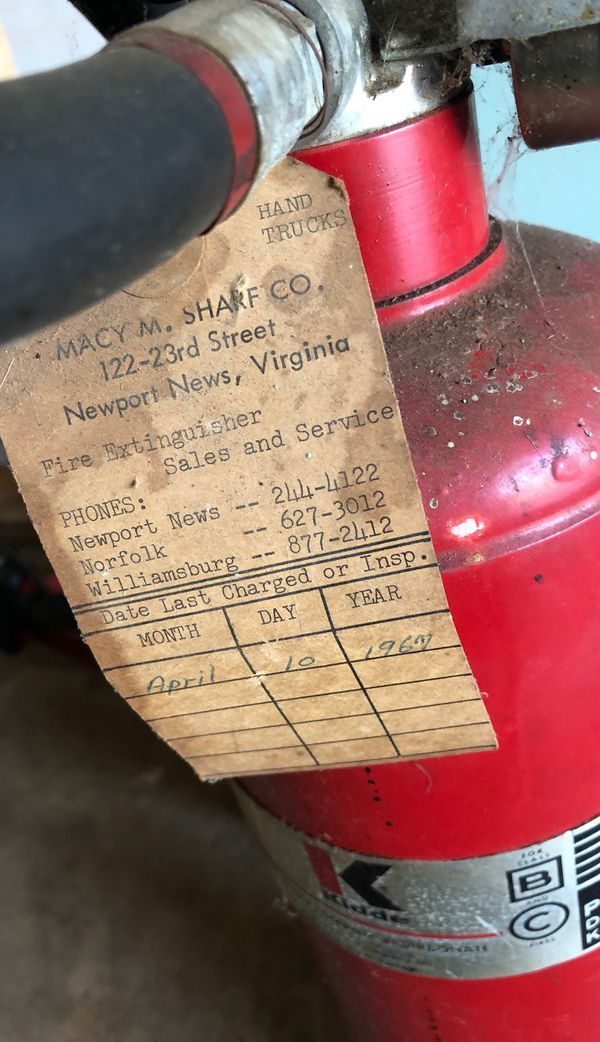 Free!!!! Vintage collectible gas tank and fire extinguisher!
