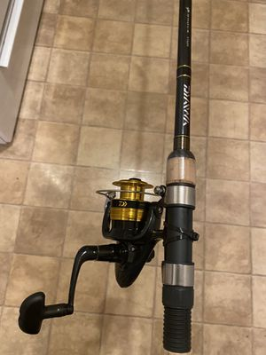 Diaiwa Fishing Reel and Rod Combo for Sale in Pomona, CA