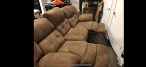 Reclining Couch NEED GONE for Sale in Tampa, FL