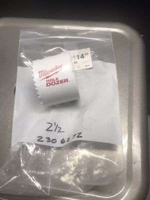 """Milwaukee 2 1/2"""" Hole Dozer Never Used You Must Pickup for Sale in New Ringgold, PA"""