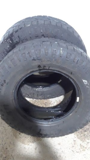 2 Tires Goodyear 255/75R17 lots tread for Sale in Sterling, VA