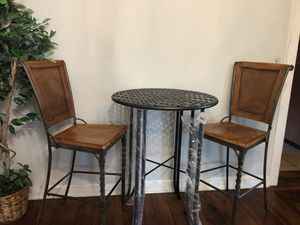 Bar chairs and table for Sale in Aldie, VA