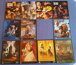 WDCS Walt Disney Collectors Society Sketches Magazines lot for Sale in Mount Airy, MD