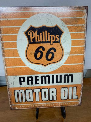 Phillips 66 tin sign for Sale in Lakeland, FL