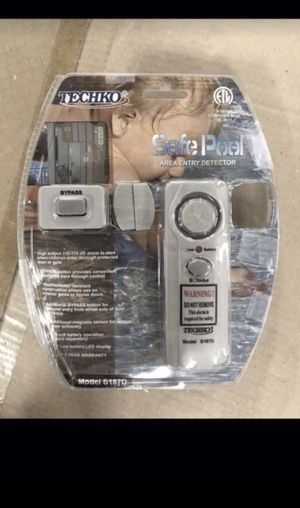Techko safe pool area entry detector for Sale in Tacoma, WA