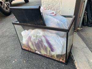 Fish tank 10 gallon for Sale in Moreno Valley, CA