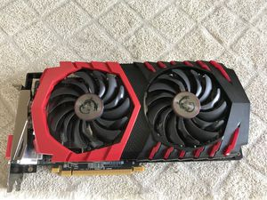 Msi gaming x rx 580 looking to trade for EVGA 1070 (read) for Sale in Los Angeles, CA