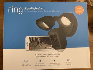 Floodlight Cam Black Ring for Sale in Hollywood, FL
