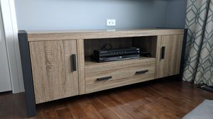 "60"" Wood Media TV Stand Storage Console for Sale in Woodridge, IL"