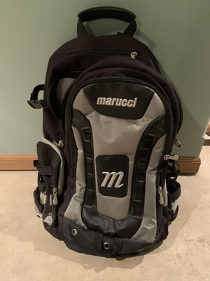 Marucci baseball back pack for Sale in Park Forest, IL