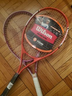 BRAND NEW Wilson tennis rackets - Both For $50 for Sale in Alexandria,  VA