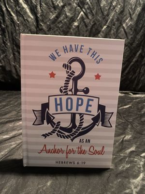 NOTEBOOK : WE HAVE THIS HOPE . AS AN ANCHOR FOR SOUL for Sale in Celebration, FL