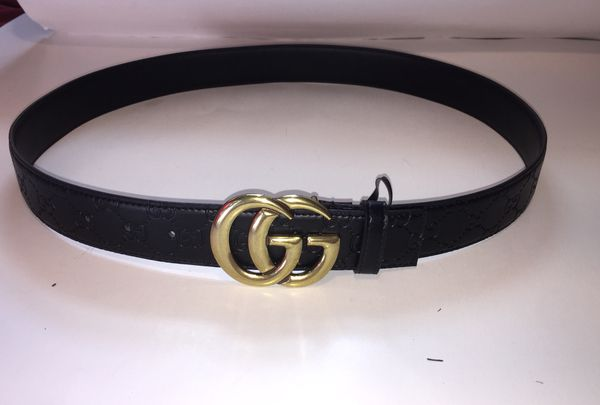 Gucci Interlocking Monogram Guccissima Black Belt