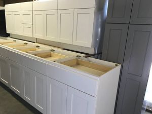 New White Shaker Kitchen Cabinet Overstock Sale for Sale in Seattle, WA