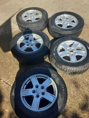 Jeep rims and tires for Sale in Walton Hills, OH