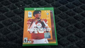 Madden 20 for Sale in Humble, TX