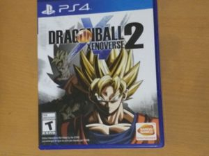 Psp4 game Dragon ball xenoverse 2 for Sale in Santa Ana, CA