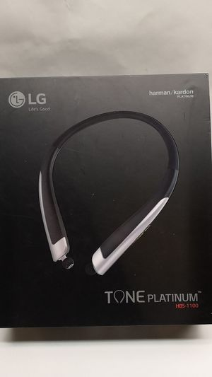 Lg tone platinum wireless headphones for Sale in Chillum, MD