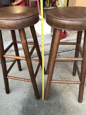 Bar stools - bancos for Sale in Houston, TX