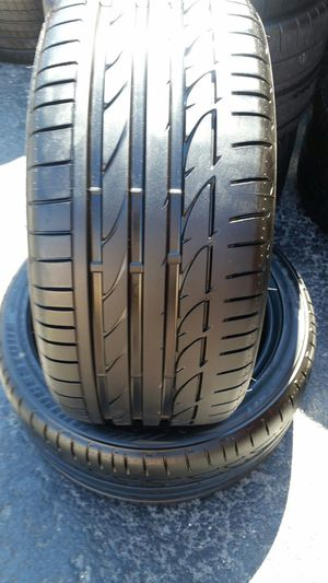 255/40/18 Bridgestone potenza SOO1 RFT 99% TREAD for Sale in Tampa, FL