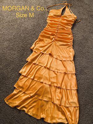 MORGAN & Co., Maxi Orange Dress, Size M for Sale in Phoenix, AZ