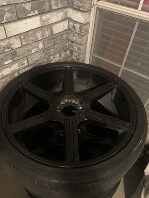 26 In Rims 6 Lugs for Sale in Mesquite, TX