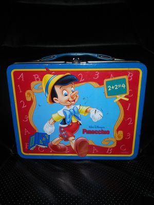Pinocchio Metal Lunch Box Walt Disney for Sale in Pulaski, TN