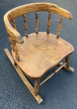 Antique, wooden, toddler-size rocking chair. for Sale in Harrisburg, PA