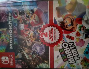 Mario kart 8 / Super Mario Party !!! $70!!!! for Sale in Fullerton, CA