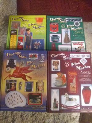 4 hardcover antique guide books for Sale in Saint Joseph, MO
