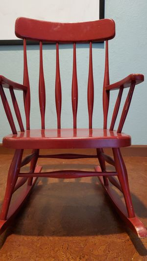 PBK Kids wooden rocking chair for Sale in Everett, WA