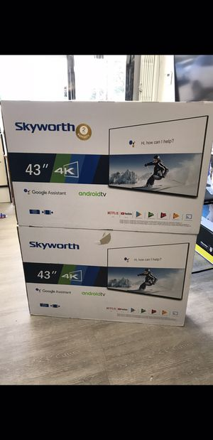 43 INCH SKYWORTH SMART TV ANDROID 📺 for Sale in Chino, CA
