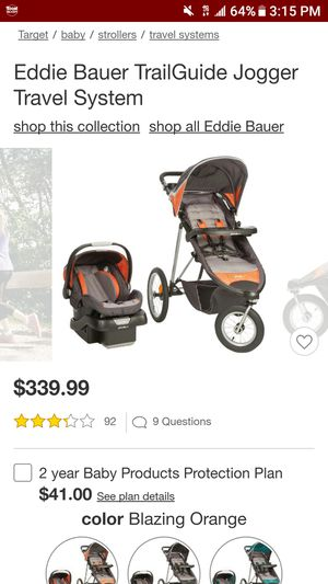 Eddie Bauer stroller and carseat for Sale in Santa Fe, NM