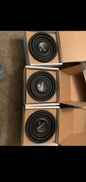 3 8 DB EUPHORIA DUAL WOOFERS $240 FIRM for Sale in Stockton, CA