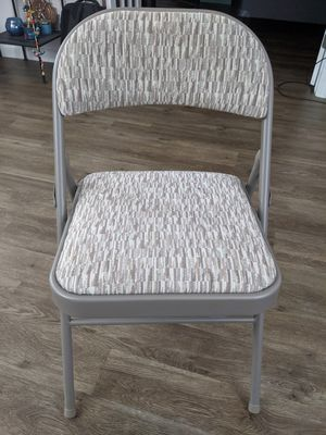 Metal folding chair for Sale in Essex Junction, VT