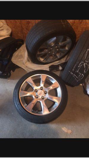 Caddy stock rims for sale 400 or OBO. 60 % tread on tires. for Sale in Woodbridge, VA