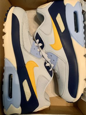 Nike Air Max 90 Pure Platinum Blue Void Men's Shoes Size-12 for Sale in San Diego, CA