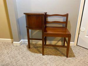 Antique Telephone Desk for Sale in Woodstock, GA