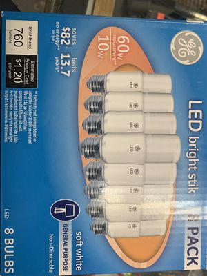 LED light bulb 8 pack for Sale in Los Angeles, CA