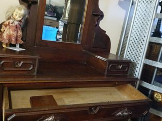 Antique Wood Dresser Between 1700-1800 for Sale in Portland,  OR