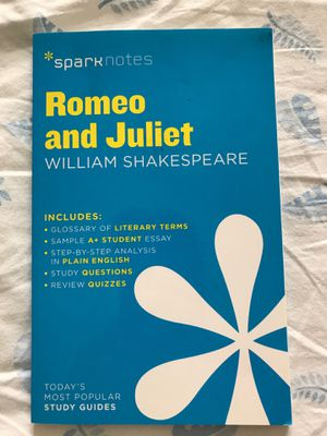 Romeo and Juliet Sparknotes for Sale in Cleveland, OH