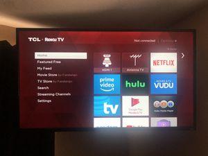 TCL roku tv for Sale in Rialto, CA