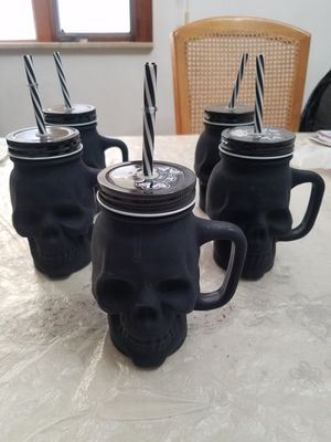 5 skull cups for Sale in Brooklyn, NY