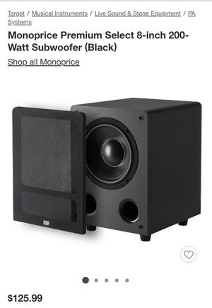 Subwoofer New for Sale in North Miami Beach, FL