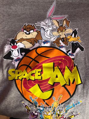 Space Jam teal baseball tee for Sale in Sacramento, CA