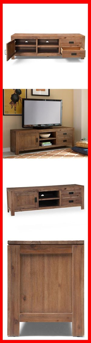"""67"""" Macy's Champagne TV Stand for Sale in Brooklyn, NY"""