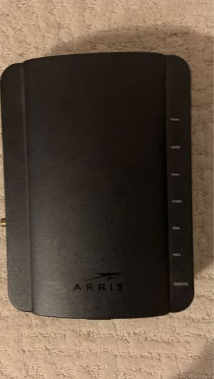 Arris DG1670A Wireless Router w/ Back Up Belkin Battery (Spectrum Cable) for Sale in Los Angeles, CA