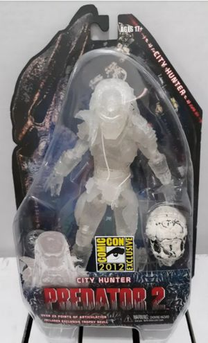 Exclusive Neca SDCC 2012 Cloaked City Hunter Predator 2 Collectible Action Figure Toy for Sale in Chicago, IL