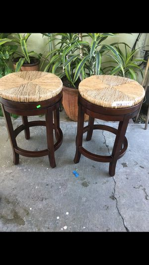 Two bar stools for Sale in Los Angeles, CA