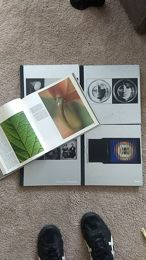 Time life photo photography books, 5 books total. Canon, Fuji, Lieca lense for Sale in Charlotte, NC